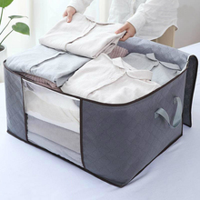 Waterproof Thick Quilt Storage Bag Large Capacity Clothing Box Moving Luggage Packing
