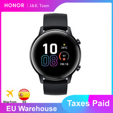 Honor magic watch 2 42mm, smartwatch bluetooth 5.1, gps, music play, magicwatch 2, chamada telefônica, monitor cardíaco para ios e android(China)