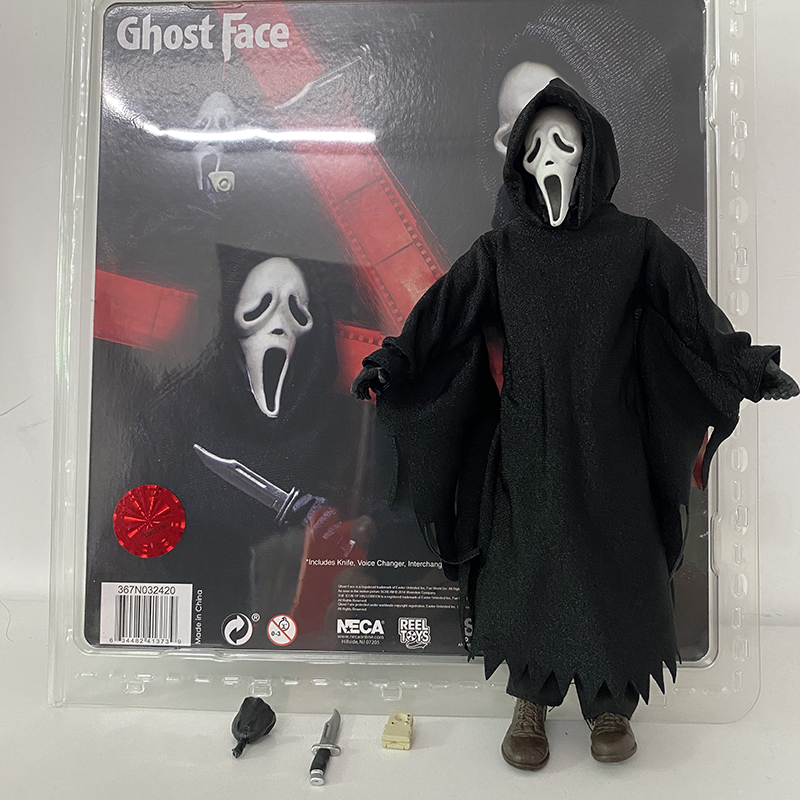 Neca Ghost Face Figure Scream Ghost Face Action Figure Ghostface Figure Horror Gift For Halloween Action Toy Figures Aliexpress