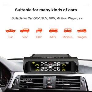 Image 3 - E ACE 태양광 TPMS, 자동차 타이어 기압 경고 모니터 시스템, 오토 보안 경보 시스템, 타이어기압 온도 경고