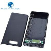 Cargador de teléfono móvil con USB Dual, caja de batería de 8x18650, 5V, carcasa de bricolaje para teléfono inteligente, MP3, carga electrónica
