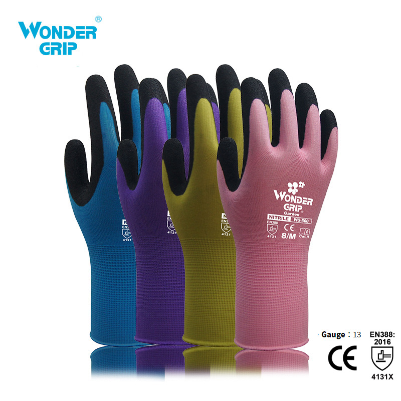 Wonder Grip Garden Gloves Anti Slip Quick Easy To Dig And Plant Safe For Rose Pruning Gloves Mittens Digging Gloves