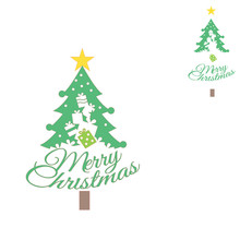YaMinSanNiO Metal Cutting Die New 2019 Christmas Gift Box Tree Letter Dies Scrapbooking Album Cut Embossing Stencil Decor