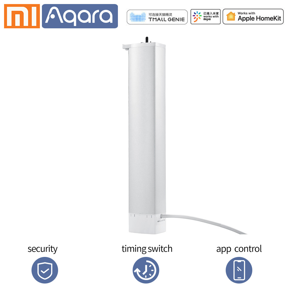 Aqara Smart Curtain Motor Intelligent Curtain Zigbee APP Control Wireless Timing  Electric Curtain Motor For Xiaomi Smart Home