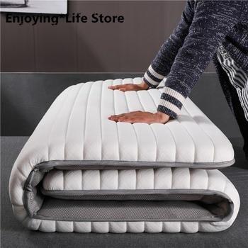 2020 Latex Mattress Folding Breathe Foam Tatami  Mattress for Queen/King /Twin/Full Size Bed Mattress Bedroom Furniture Tatimi