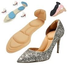 1 пара, женские стельки, дышащие, противоскользящие вставки, на высоком каблуке, вставка, защита для ног, обувь, аксессуары