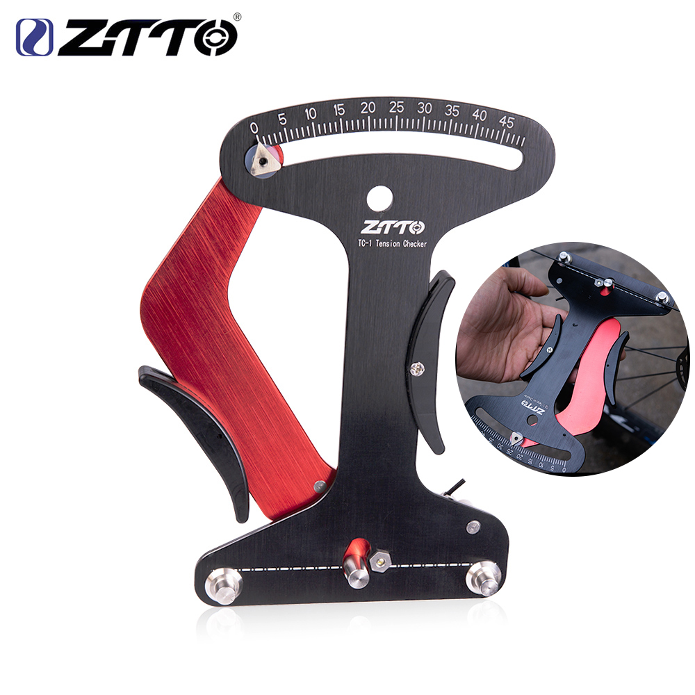 ZTTO Spoke Tension Meter Wheel Spokes Checker Reliable Indicator Accurate and Stable Compete With Blue Tool TM-1 Bicycle Tool image