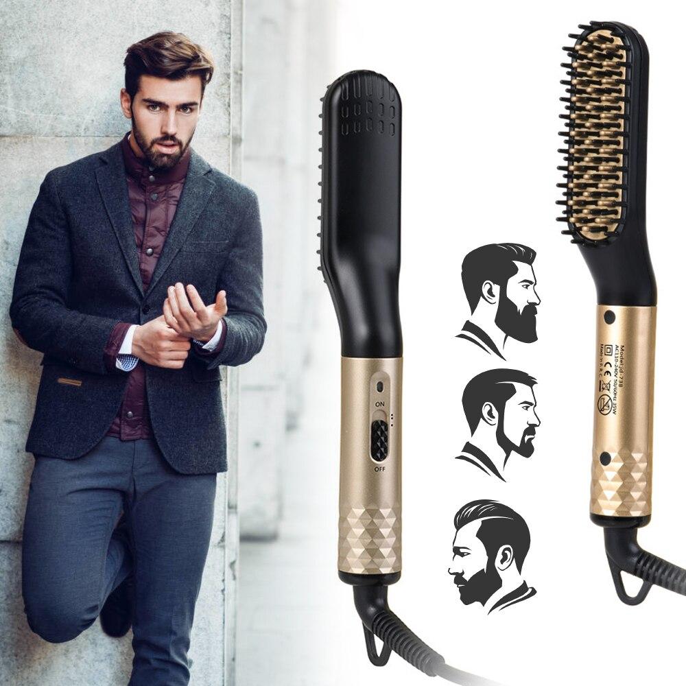 Beard Straightener Brush 2