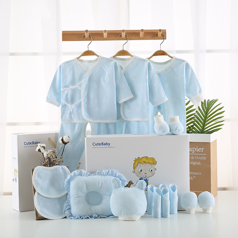 Pure Cotton Clothes For Babies Newborns Gift Set 0-3 Month 6 Spring And Autumn Summer Primary Newborn Baby Supplies