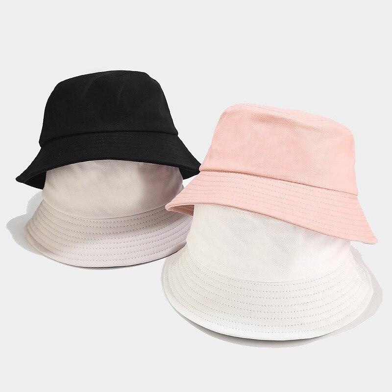 Korean Candy-colored Light Board Fisherman Hat Women Japanese Small Fresh Simple Basin Cap Spring Summer Student Couple Sun Hat