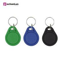 Llavero con chapa de Color aleatorio, llavero con chapa EM4305, RFID, 50/100 KHz, copia y reescritura, 10/125 Uds.