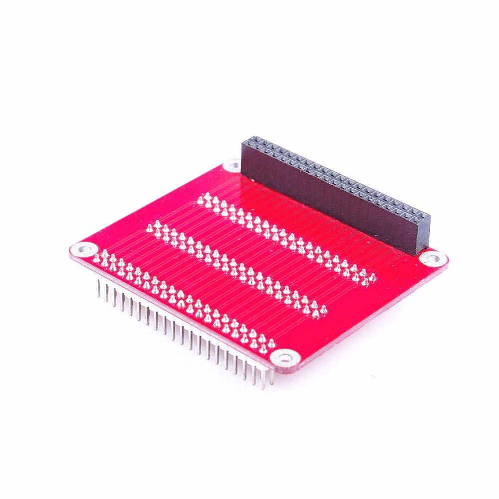 Pour framboise Pi Gpio carte d'extension platine de prototypage facile multiplexage carte un à trois avec vis pour framboise Pi 2 3 B B +