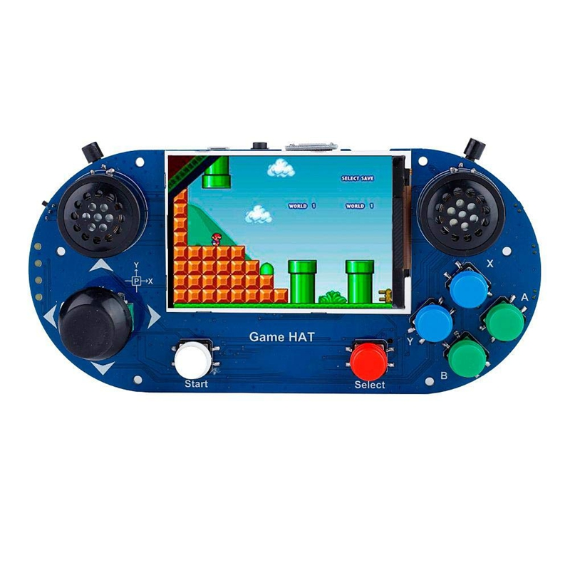 Game Console 3.5-Inch IPS Screen 480 X 320 Resolution Portable Handheld Retro Game Console for Raspberry Pi A+/B+/2B/3B/3B+