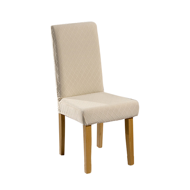 1/4/6 Pcs Jacquard Plain Dining Chair Cover Spandex Elastic Chair Slipcover Case Stretch Chair Cover for Wedding Hotel Banquet 3