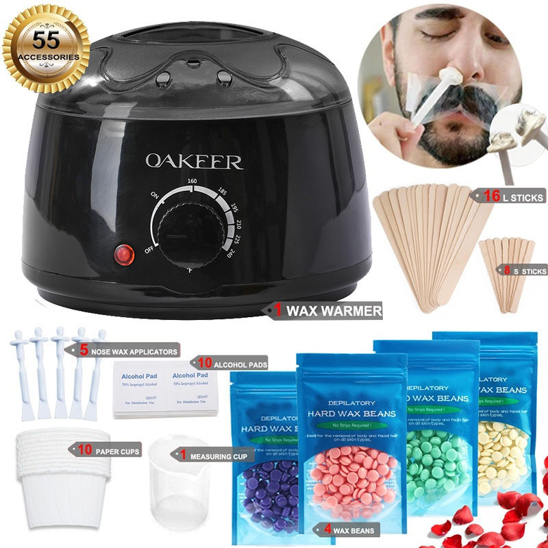 Depilation wax dipping pot hair removal waxing kit Removing Unwanted Hairs in Legs and Other Body Parts