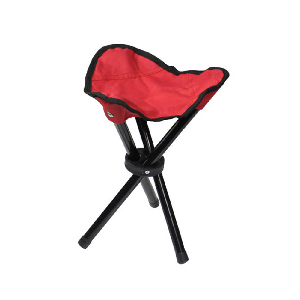 Portable Folding Triangle Chairs Outdoor Camping Fishing Stool Lightweight Chair