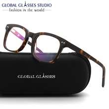 Очки Оправы для очков ацетат очки Оптические близорукости с