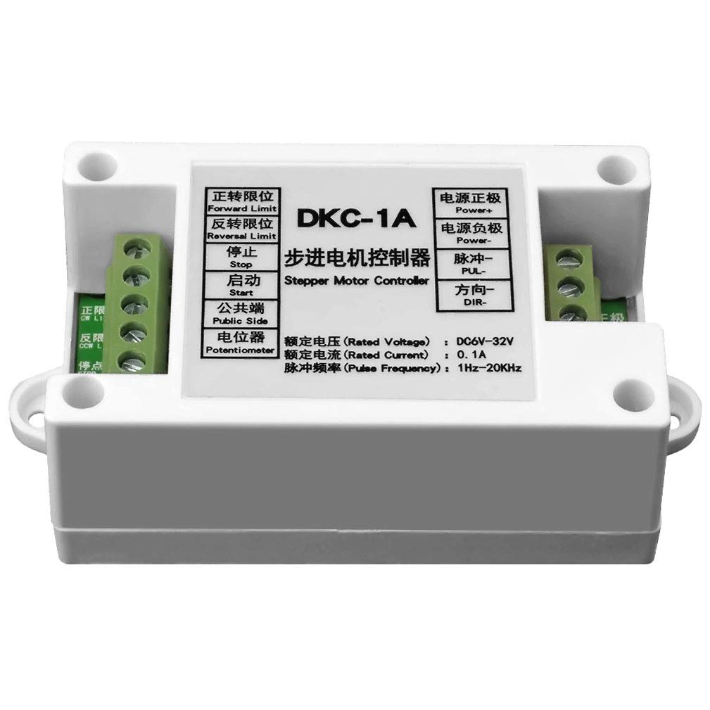 Stepper Motor Controller DC 6-32V 20KHz Pulse Generator Servo Controller PLC Module Potentiometer Motor Speed Control