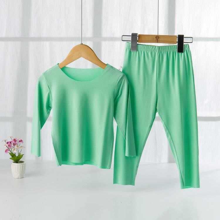 Conjunto de ropa interior térmica para bebés de primavera y otoño de algodón de 0-1-3 años 6 ropa interior para niños para bebés Base de niñas