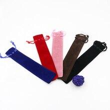Двусторонняя фланелевая ручка сумка чехол для подарочной ручки 50 шт./лот