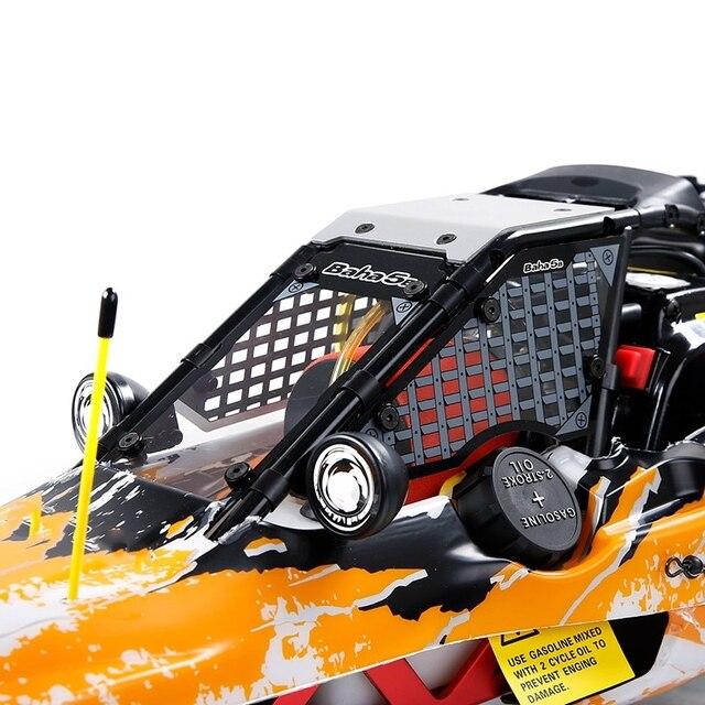 5B Explosion-Proof Car Window (PC Material) Fit for 1/5 HPI ROVAN BAHA ROFUN KM GTB TS BAJA 5B