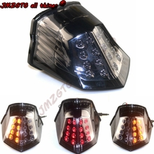 Motorcycle LED Turn Signal Tail Light Taillight For YAMAHA XJ6 FZ6 Diversion 600 2009 2010 2011 2012 2013 2014