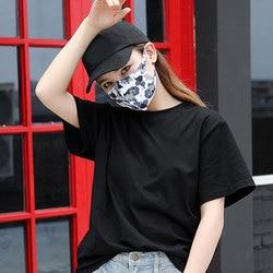 1pc bawełna przeciwkurzowe maska ochronna na twarz Unisex maska z karbonową różową maską muflową 5