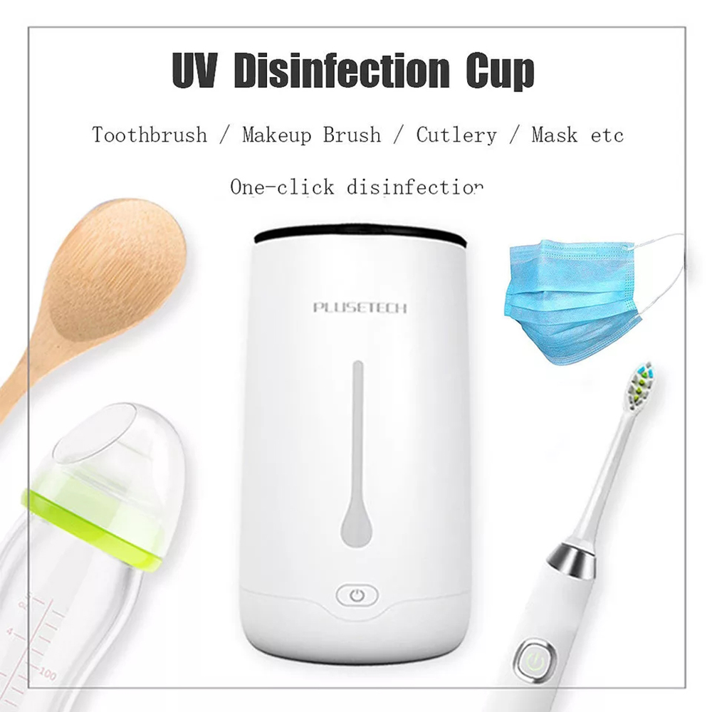 Nail UV Portable Sterilization Cup Multifunction Disinfection Masks Feeding bottle Makeup Sterilizer Jewelry  toothbrush Clean