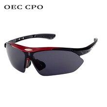 OEC CPO Fashion 2019 New Men Sunglasses Oversized Goggles Mens Rimless Famous Brand Eyewear Gafas de sol O88