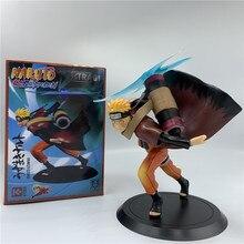 Naruto Shippuden Naruto Rasengan Leunde Overing Ver. Pvc Action Figure Uzumaki Naruto Kurama Collectible Model 18Cm
