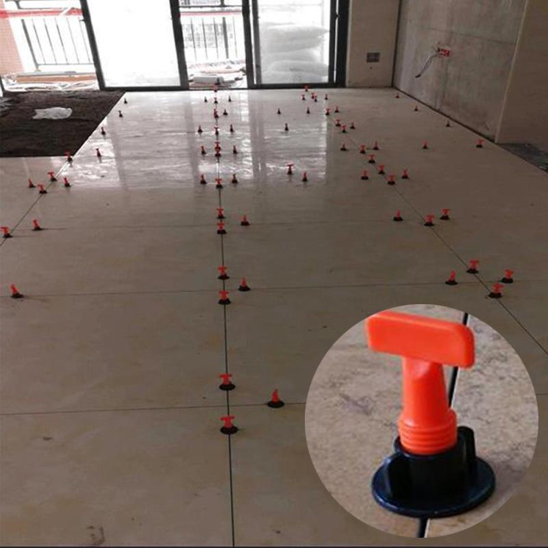 Linkfor 25PCS Tile Leveling Système Avec équilibrage bulle Réutilisable Carrelage Niveleur T