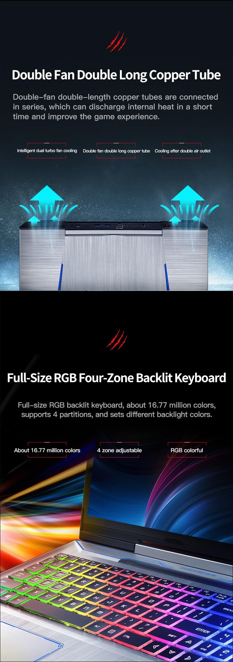 H8b5ca9d5900949c8bdb9c14ff97539cea Machenike T90-T6C Gaming Laptop (Intel Core i7-8750H+GTX 1060 6G/8GB RAM/256G SSD/15.6'' 144Hz72%NTSC) Machenike-brande notebook