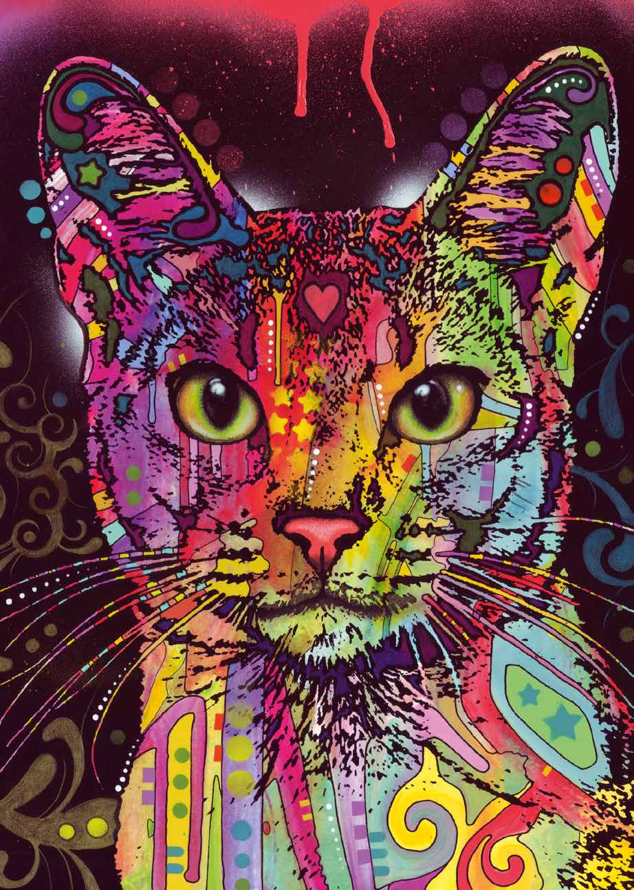 HEYE Colorful Cat 2000 Pieces Jigsaw Puzzle Educational Toys For Children's Gift Toy