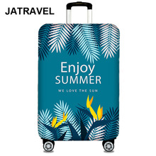 JATRAVEL Thicker Travel Enjoy Summer Luggage Suitcase Protective Cover for Trunk Case Apply to 19-32 Elastic