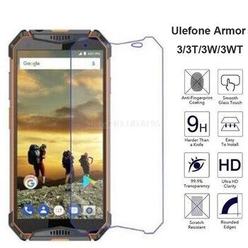 Перейти на Алиэкспресс и купить Закаленное стекло для Ulefone Armor 3 3T, защита экрана, защита от царапин, мобильный телефон, пленка для Ulefone Armor 3W 3WT, стеклянный чехол