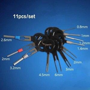 Image 5 - 자동차 플러그 자동차 터미널 제거 도구 세트 키 자동차 전기 와이어 크림프 커넥터 핀 추출기 키트 액세서리 스틸