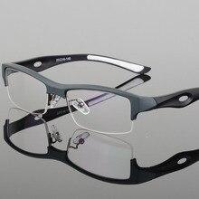 חדשות זכר אופנה משקפיים מסגרת משקפי מחזה tr90 קוצר ראיה מסגרת משקפיים אופטי מסגרות משקפי גברים משקפיים oculos 1077