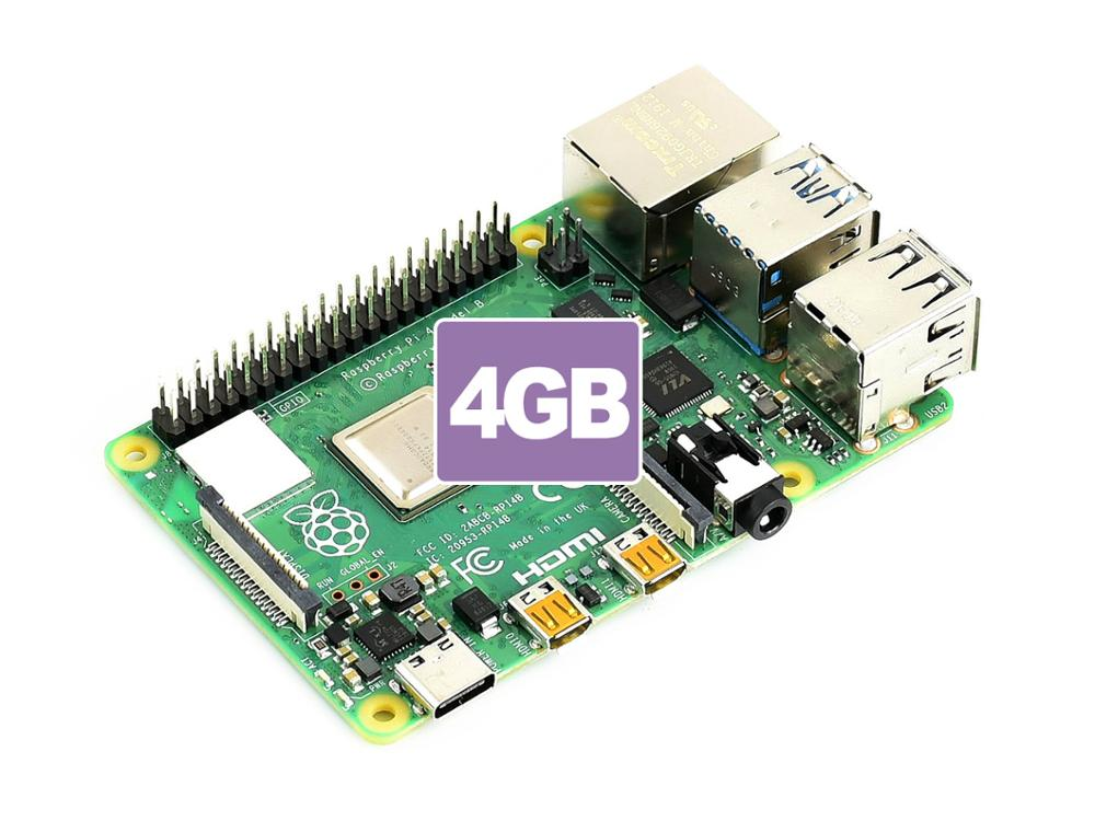 Raspberry Pi 4 Model B 4GB RAM, Completely Upgraded