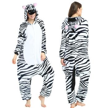 Zebra kostium rodzina Kigurumi jednorożec piżama tata syn mama i jednakowe ubrania dla córki zwierząt dorosłych i malucha zestawy piżam tanie i dobre opinie CN (pochodzenie) Moda Pełna Pasuje mniejszy niż zwykle proszę sprawdzić ten sklep jest dobór informacji Poliester
