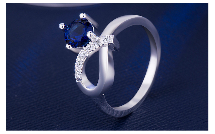 ring 925 silver jewelry for women x4