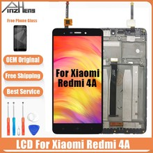 AAAA Original LCD For Xiaomi Redmi 4A Display Touch Screen Digitizer Replacement  With Frame