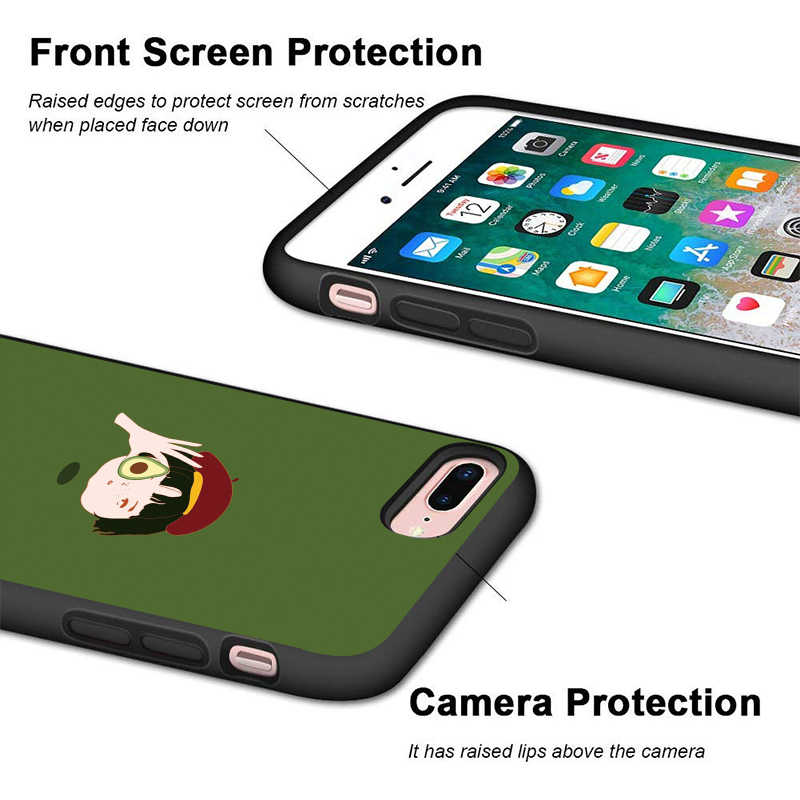 Popcorn pączek etui na telefon dla iPhone 11 Pro Max X XS XR 8 7 6 5 s Plus silikon TPU odporność na upadek pokrywa Coque