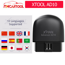 XTOOL AD10 Full OBD2 scanner Engine Code Reader strumento diagnostico per auto aggiornamento gratuito multilingue PK CR3001 CR319 AD310 ELM327 V1.5