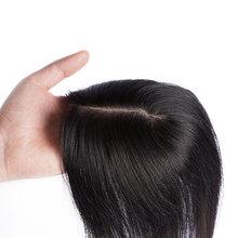 Doreen шелковая основа волос Топпер чистый цвет парик шиньоны для женщин Remy человеческие парик волосы