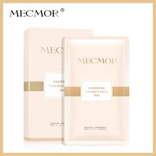 MECMOR Beauty Active Extract Essence Facial Mask 5PC Collagen Additive Free Sensitive Skin Usable Nourish Face Mask