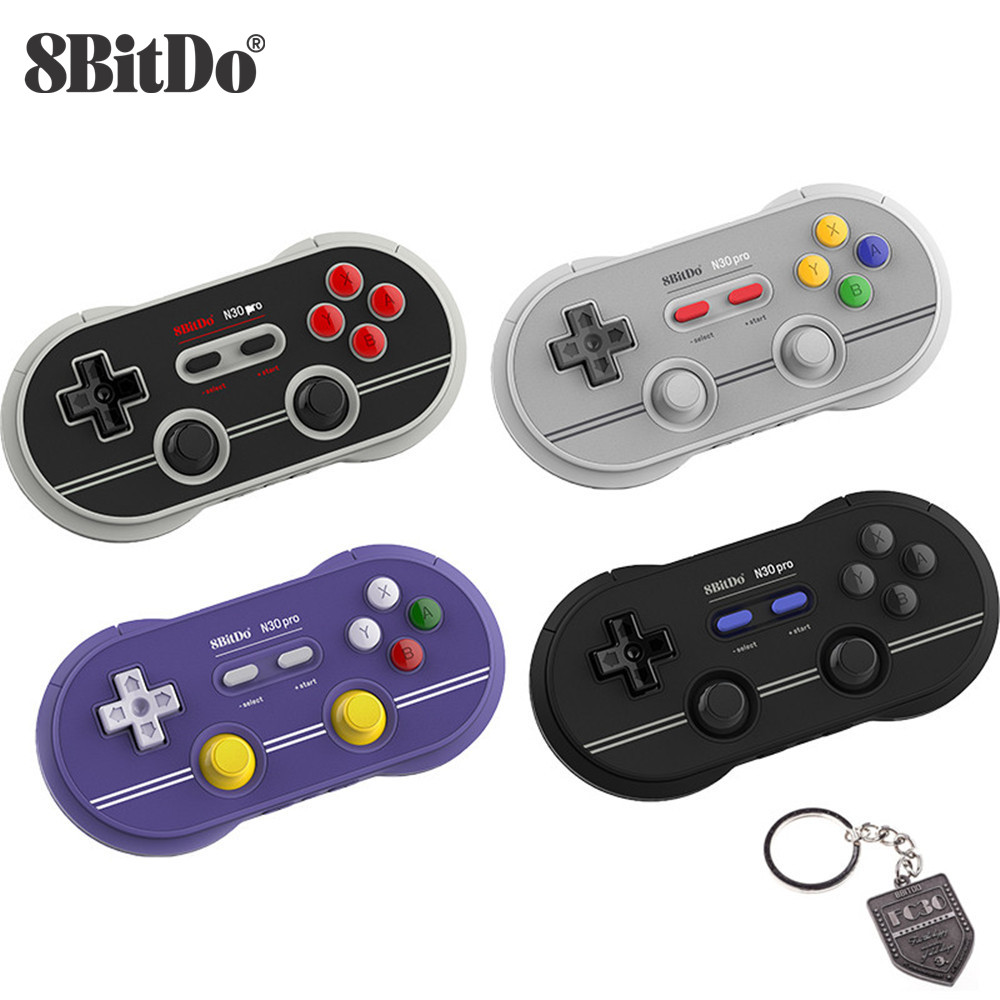 8BitDo N30 Pro2 Bluetooth Gamepad Wireless Controller Mit Joystick Schalter für Schalter Dampf Windows macOS Android Raspberry PI