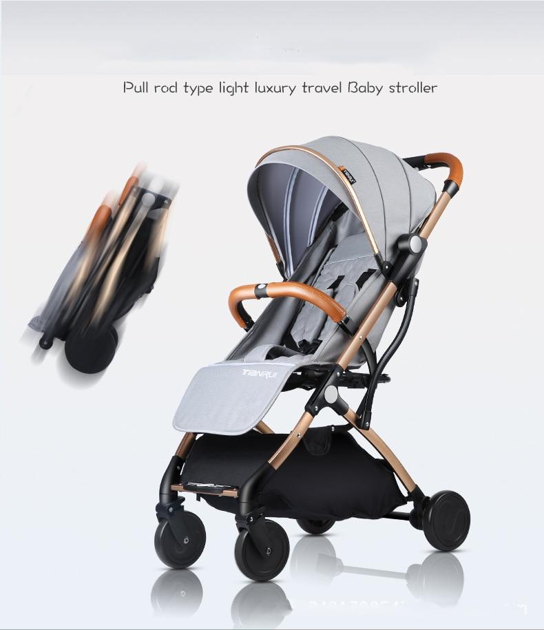 Carrinho de bebê leve portátil sistema de