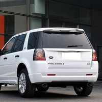 Unpainted ABS Rear Roof Spoiler Wing for Land Rover Freelander 2 2010 2014|spoiler wing|rear roof spoiler|roof spoiler -