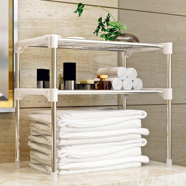 New 3-Tier Multi-functional Kitchen Storage Shelf Rack Microwave Oven Shelving Unit Sturdy Easy Installation Storage Shelf