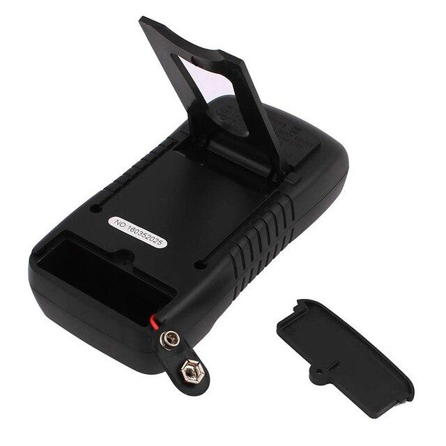 XL830L Palmare Multimetro Digitale A CRISTALLI LIQUIDI Retroilluminazione Portatile AC/DC Amperometro Voltmetro di Ohm del Tester di Tensione Metro Multimetro 3